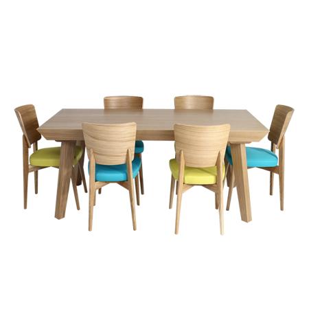 פינות אוכל - מרכז השולחן והכסא